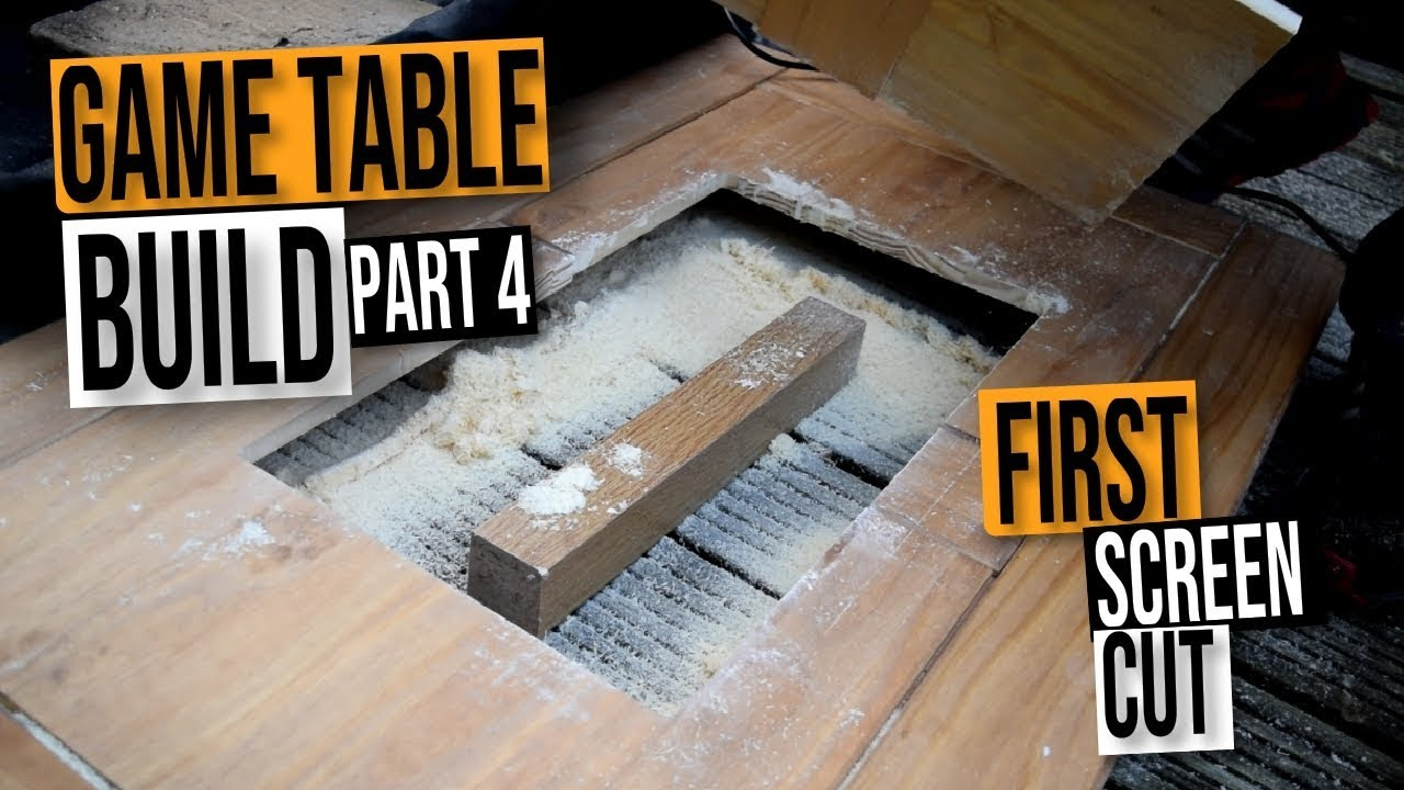 Mame Coffee Table.Mame Gaming Coffee Table Diy Build Guide First Cut Part4