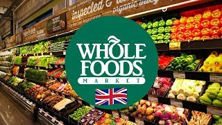 Grocery haul tour in London: Whole Foods Market Piccadilly