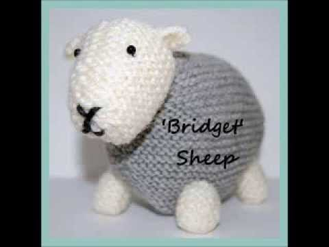 Bridget Herdwick Cumbrian Sheep Toy Aran Yarn Knitting Pattern Youtube
