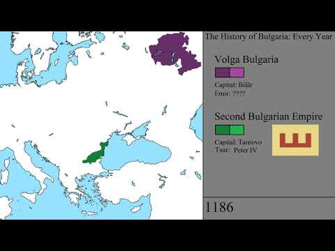 The History of Bulgaria: Every Year - YouTube