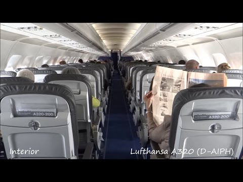 Lufthansa Flight Experience Airbus A320-211 (D-AIPH) Paris to Munich