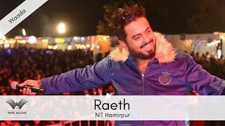 Vaada live by Raeth at NIT Hamirpur, Hill