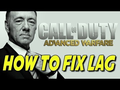 How to Fix Lag In Advanced Warfare Multiplayer (Advanced Warfare Lag Compensation fix)