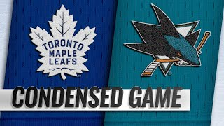 11/15/18 Condensed Game: Maple Leafs @ Sharks