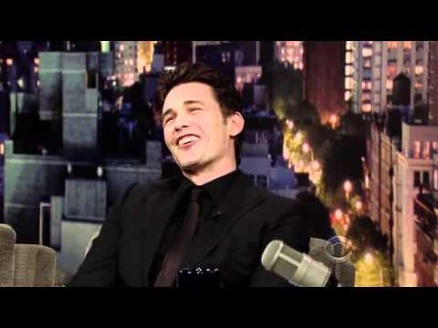 James Franco - The Late Show with David Letterman 09/23/10