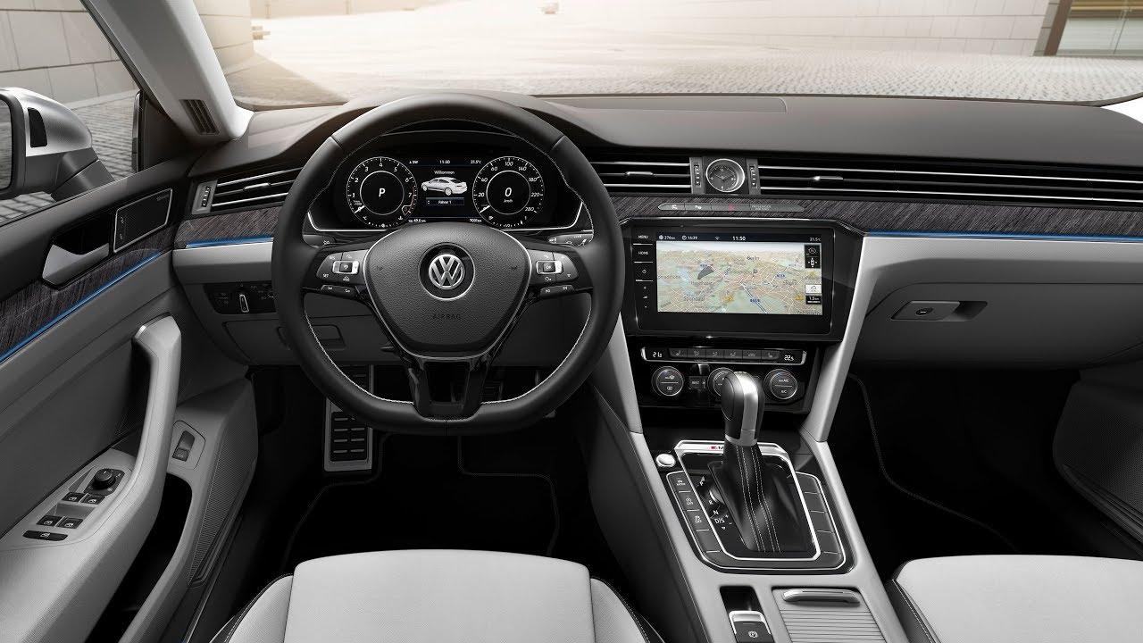 2018 Volkswagen Arteon Elegance - Interior - YouTube