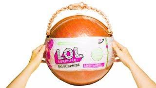 БОЛЬШОЙ Китайский ЗОЛОТОЙ ЛОЛ Огромный Шар LOL Подделка Шара с 50 Сюрпризами Fake LOL Big Surprise