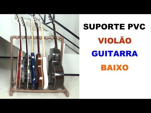 Rack/Suporte PVC para Instrumentos Musicais