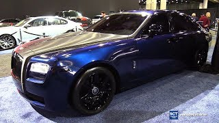 2019 Rolls Royce Ghost by Envy Group - Exterior and Interior Walkaround - 2019 Detroit Auto Show