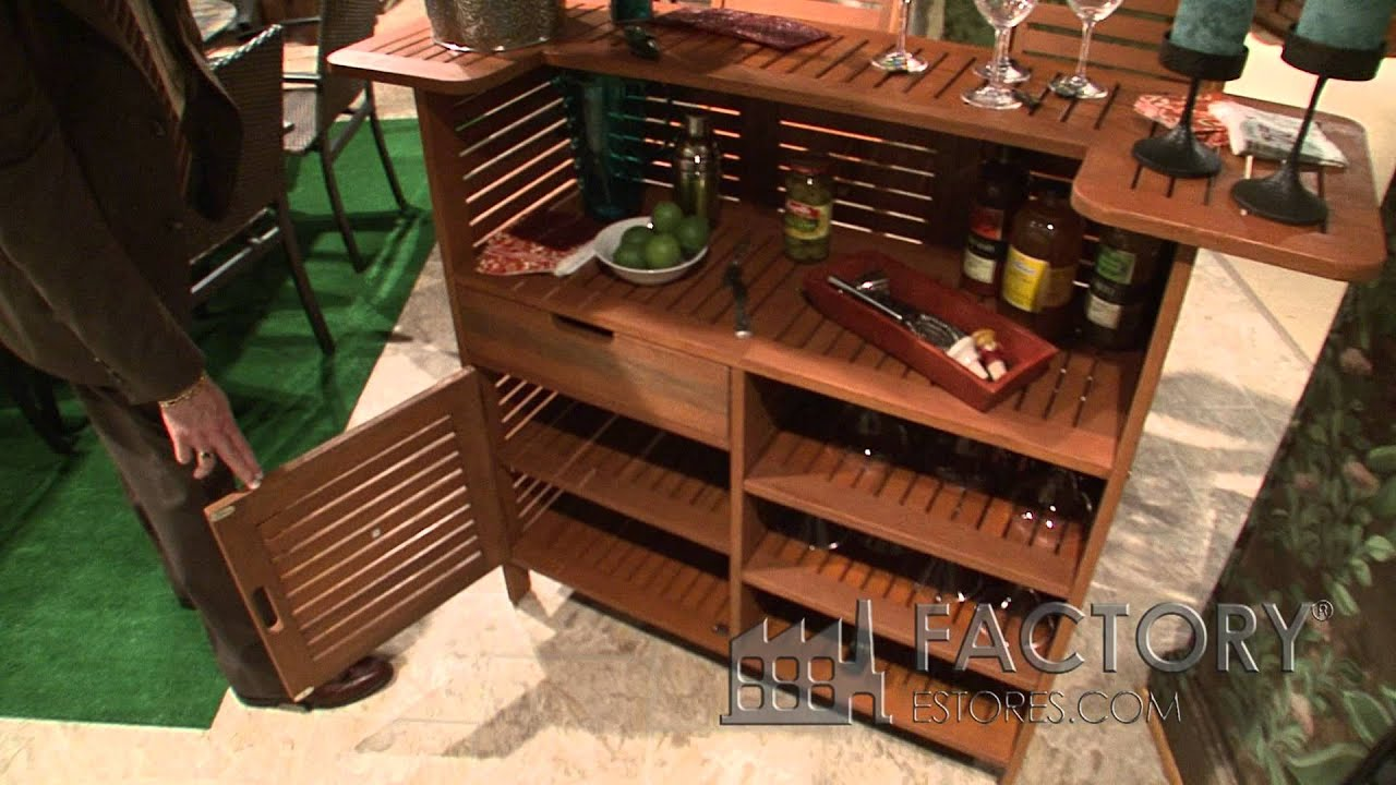 Home Styles Outdoor Wood Bar   Factoryestores.com