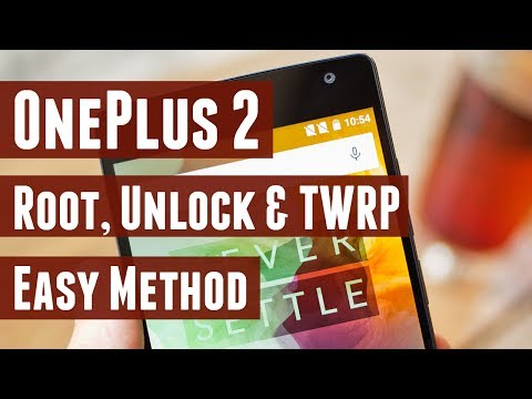 How to Root, Unlock Bootloader and Install TWRP on OnePlus 2 - Simplest Method