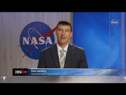 LIVE: NASA discusses upcoming ISS spacewalk