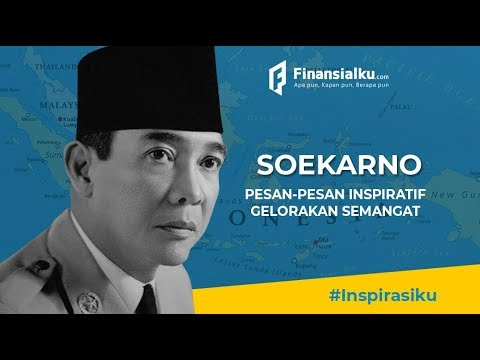 Kata Kata Mutiara Pak Soekarno Presiden Pertama Ri