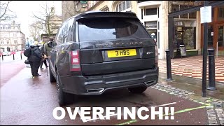 видео land rover overfinch