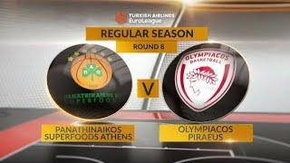 2016.11.18 - Panathinaikos Superfoods vs Olympiacos Piraeus 77-79 (Euroleague 2016-17)