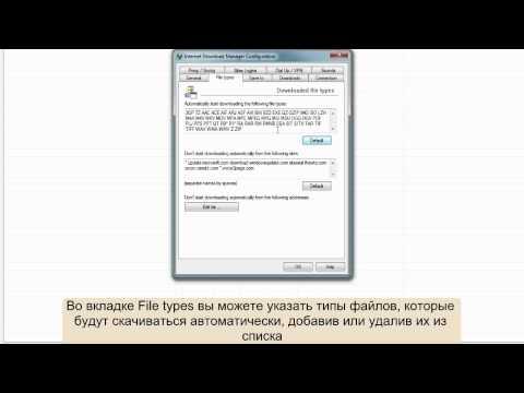 Как настроить Internet Download Manager