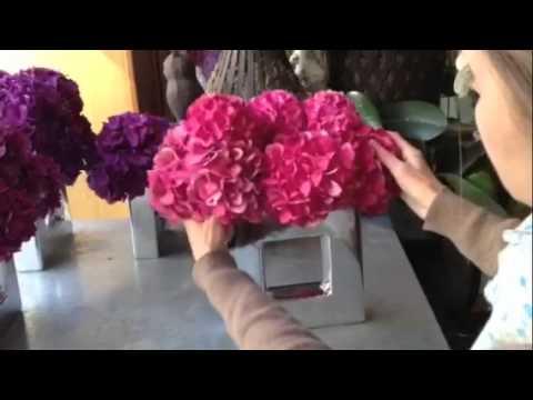 D coration florale pour fleurs fruits feuillages youtube for Decoration florale