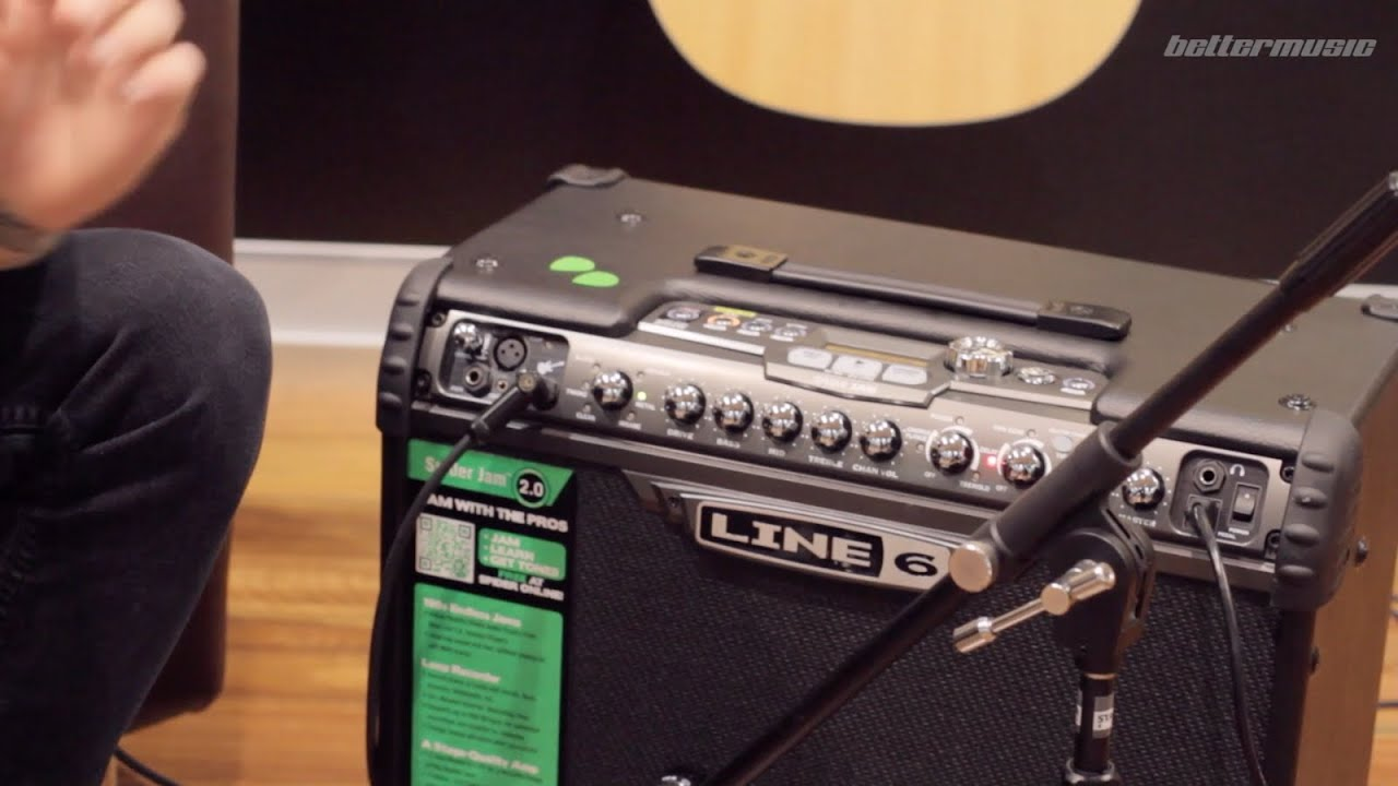 Line 6 Spider IV Jam 75W Guitar Amplifier Combo Demo | Better Music