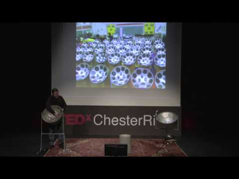 The birth of the steel drum: Kevin Martin at TEDxChesterRiver