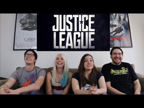 Justice League - Official Trailer 1 Reaction / Review