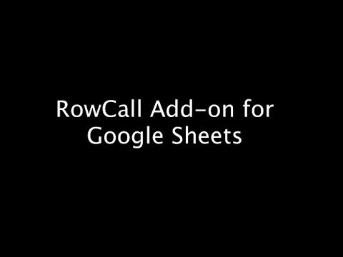 RowCall - Google Sheets Add-on for Easy Sorting into Tabs #gafe #edtech #googleclassroom @rmbyrne @alicekeeler