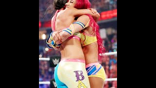 It has been such a great week for Sasha. Her friend Bayley debut at...
