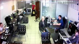 Тестовая видеозапись с IP камеры Falcon Eye FE IPC DL200P