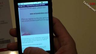 Google Docs: Scanning A Document With Your Android Phone