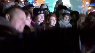 Съемки клипа Ленинграда в Хабаровске