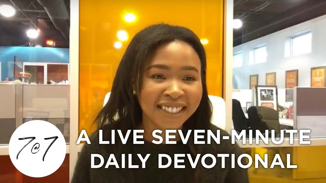 7@7: A Live Seven-Minute Daily Devotional - Day 13