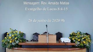 Culto 28 de junho de 2020 9h
