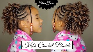 Natural Looking Crochet Hairstyle for Kids | Kid Appropriate Hair Styles