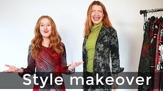 Style makeover for women over 40 - work from home outfit ideas