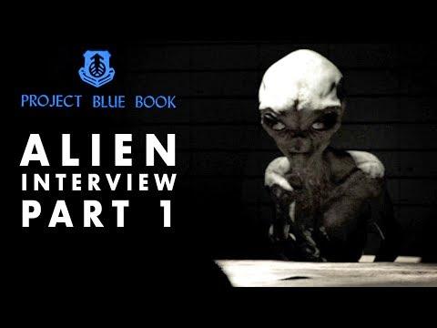 Alien Interview Part 1   Secrets of Universe Revealed   Project Blue Book