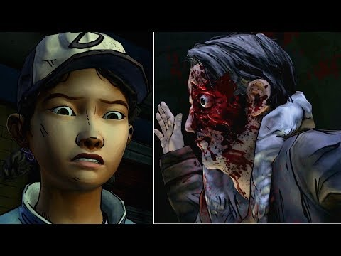 Watch Kenny Beating Carver Vs Leave With Sarita -All Choices- The Walking Dead