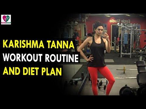 Karishma Tanna Workout Routine And Diet Plan || Health Sutra - Best Health Tips