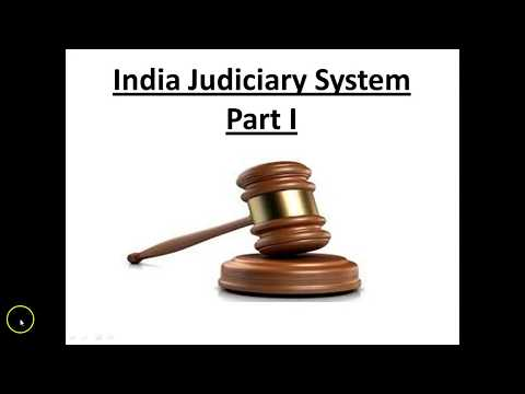 Judicial System in India in Hindi | Indian judiciary system lecture | Indian Judiciary Documentary 1