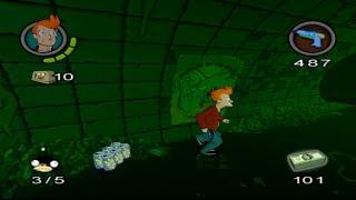 Futurama El Videojuego Capítulo 2 Alcantarillas Español Gameplay/Walkthrough PS2/PC