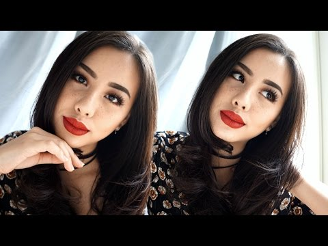 Glam Orange And Copper Makeup For Hangout + Faux Freckles (Bahasa Indonesia)   Ludovica Jessica