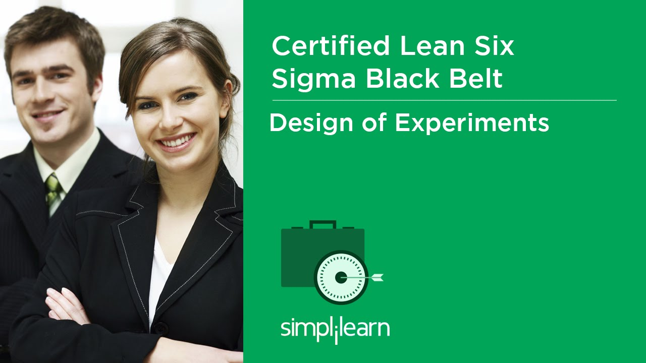 Introduction To Design Of Experiments Doe Lean Six Sigma Black
