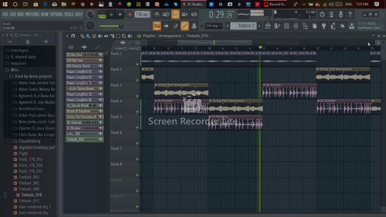 fl studio dashboard beats