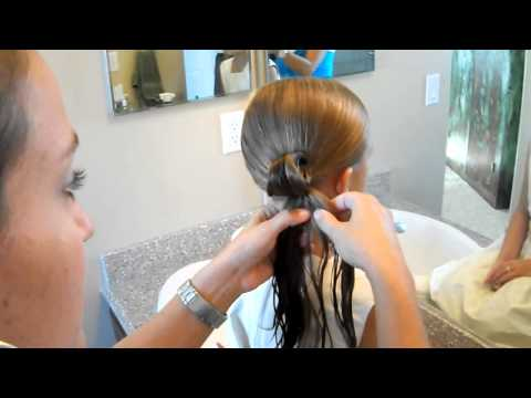 Cute Teen Bun   Updos   Cute Girls Hairstyles