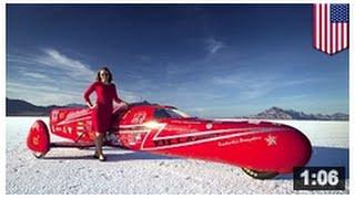 Nouveau record de vitesse: Eva Hakansson dépasse les 389 km/h avec un véhicule fait maison