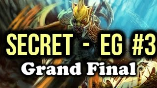 Team Secret vs EG (Evil Geniuses) Highlights ESL One Frankfurt Dota 2 Grand Final Game 3