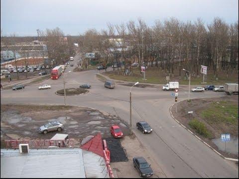 ПДД :Проезд перекрестков с Круговым движением. Ярославль