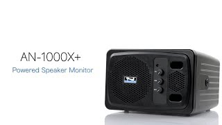 Powered 2-Way Portable Speaker Monitor with Cable Bundle /& Cleaning Kit Anchor Audio AN-1000X