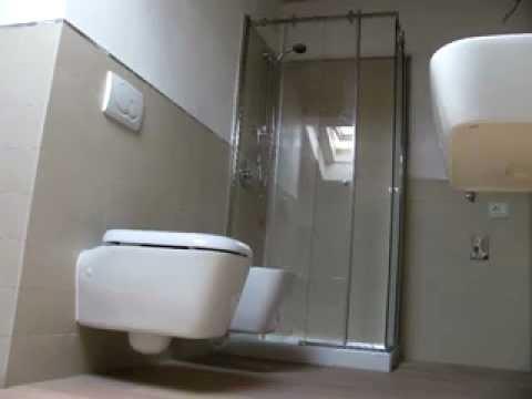 Installazione box doccia in vetro youtube - Box doccia tre lati leroy merlin ...