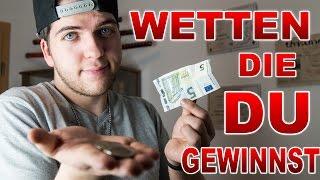 3 WETTEN, DIE IHR IMMER GEWINNT | BAR WETTEN - Alexander Straub