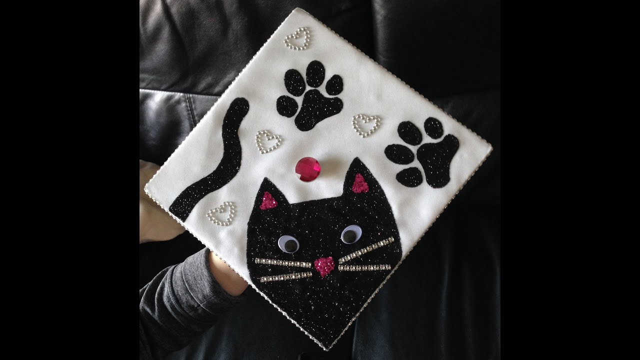 Cat Graduation Cap DIY