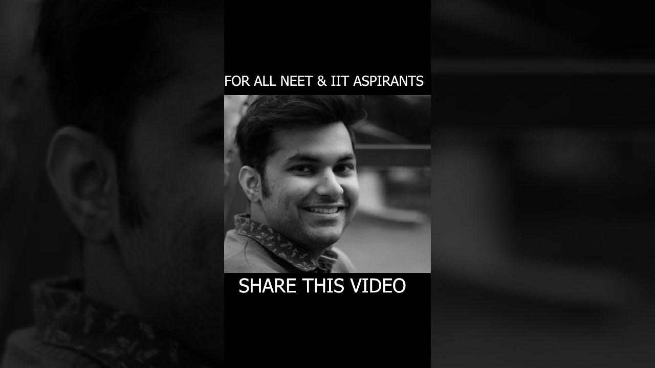 Motivational speech for NEET & IIT aspirants   Oshin & Tara   AV Humour   #Shorts #Youtubeshorts